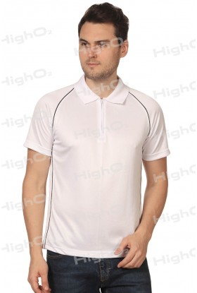 HighO2 Collar T-Shirt with Pipping