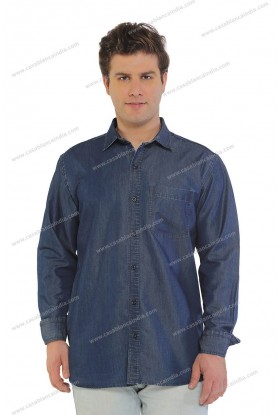 Casablanca Denim Full Sleeve Shirt
